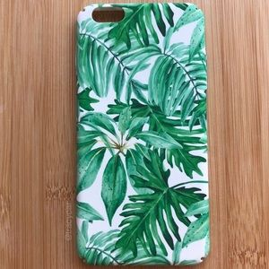 Accessories - NEW Iphone 6/6s/6+/6s+ Floral Leaves Summer Case